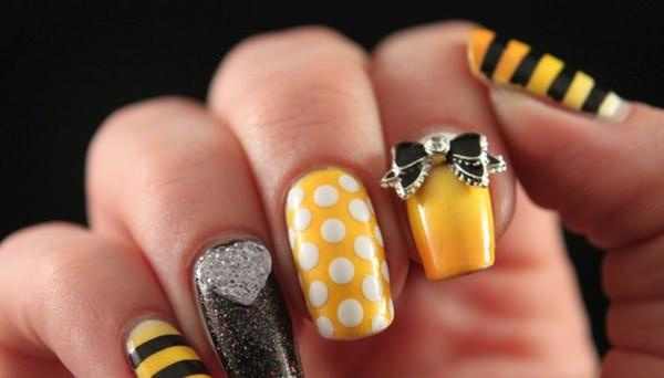 cute nail designs creem (16)