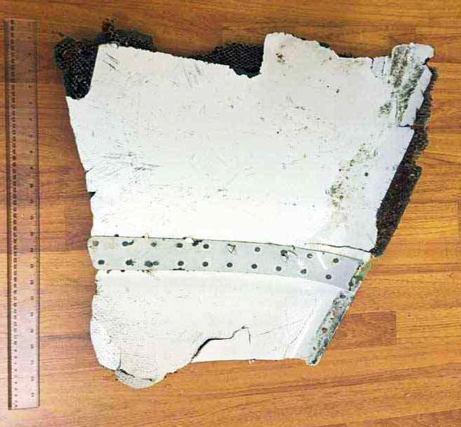 Debris gris gris mauritius -MH370-