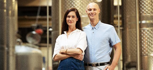 Dr. Sonat Birnecker Hart and Her Husband, Robert