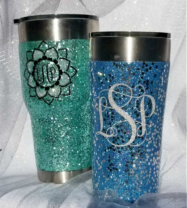 Make your own glitter tumblers with this tutorial from Leap of Faith Crafting. See all the Best Crafts of 2018 from more of your favorite bloggers at Halfpint Design.