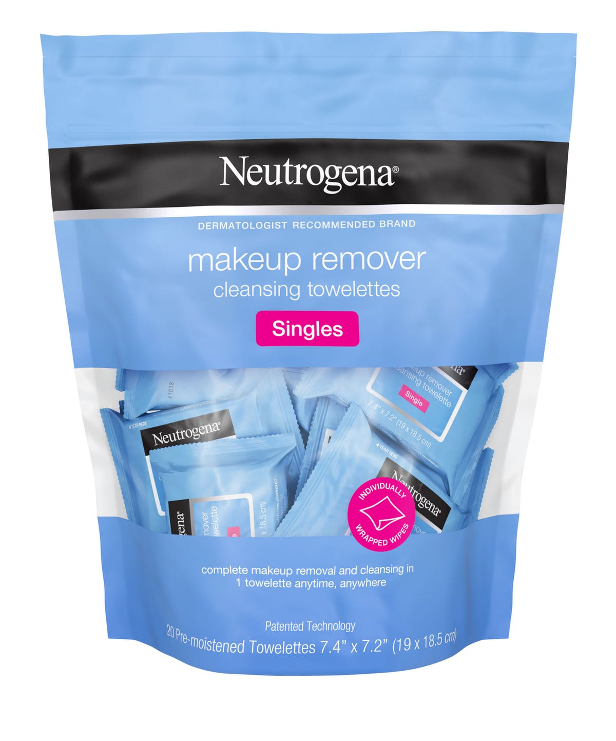 Image result for neutrogena mini makeup wipes