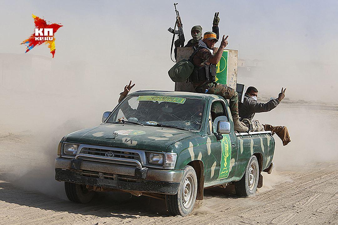 Народная молва приписывает бойцам Хадж-Аш-Шаби недюжинную храбрость и военную смекалку. Фото: Александр КОЦ, Дмитрий СТЕШИН