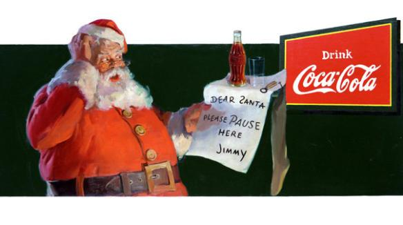 1932 Coca-Cola Holiday Ad