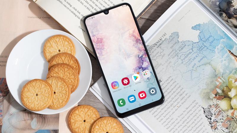 Điện thoại Samsung Galaxy A50 chính hãng | Màn hình