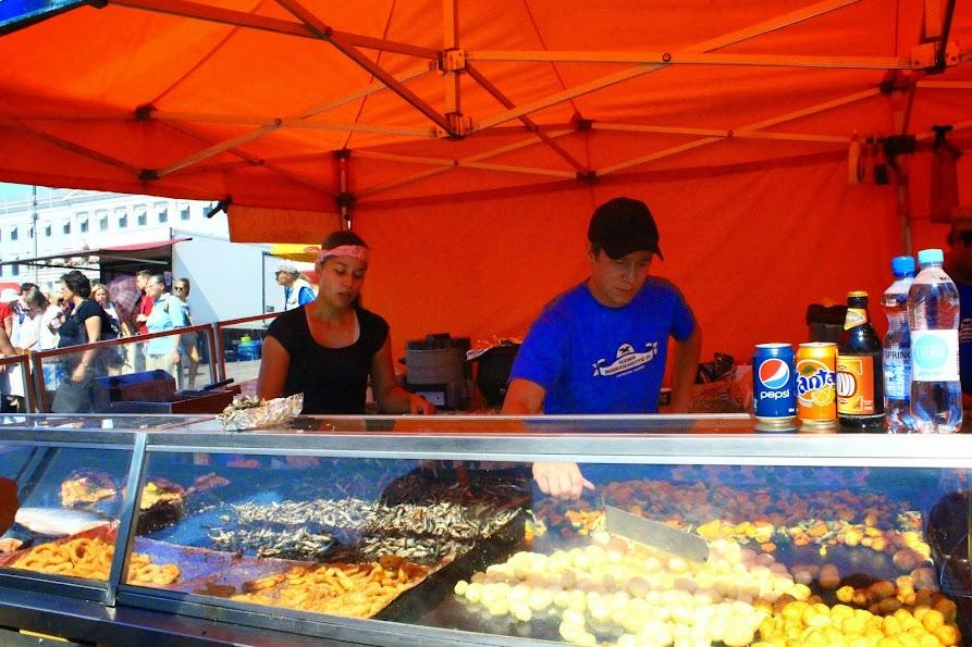 Kauppatori market helsinki seafood grill