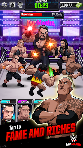 WWE Tap Mania: Get in the Ring in this Idle Tapper- screenshot thumbnail