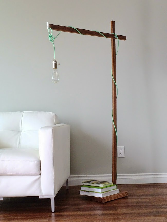Ana White Modern Wood Floor Lamp From A 1x2 Diy Projects