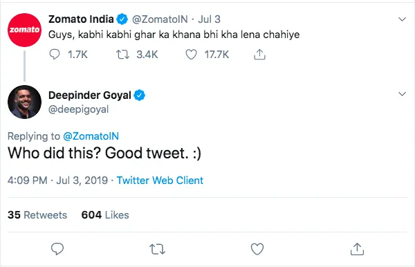 zomato twitter marketing