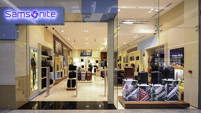 Các cửa hàng Samsonite trên cả nước