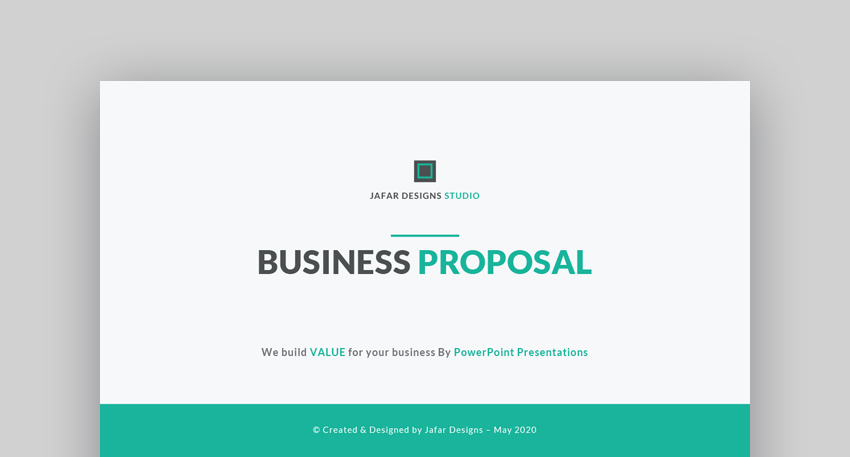 Business Proposal - Professional Presentation Template
