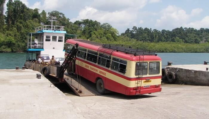 Transport in Andaman iyaatra holidays