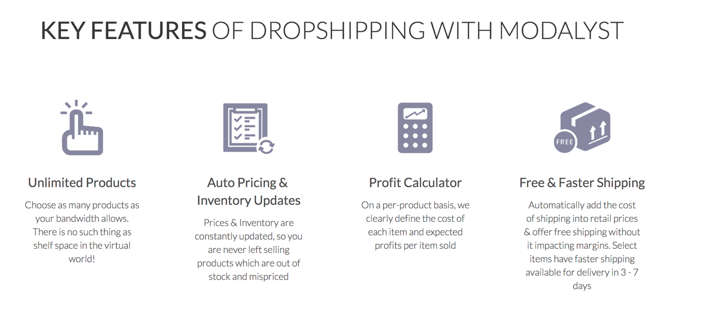 Dropshipping Suppliers on Modalyst