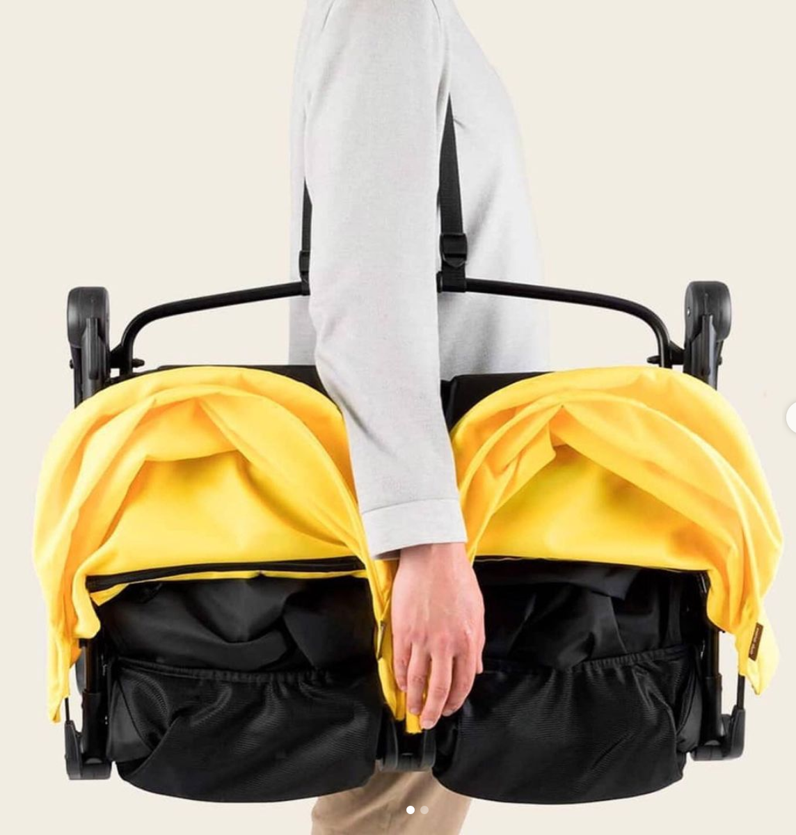Mountain Buggy Nano Duo Stroller Review_fold