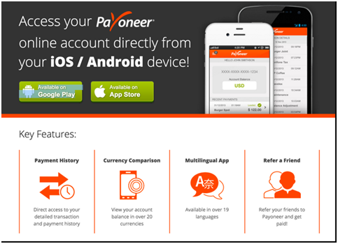 Payoneer Mobile Application