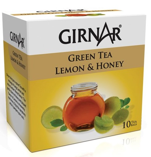 Girnar Lemon and Honey Green Tea