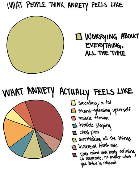 Image result for graph showing anxiety in the us
