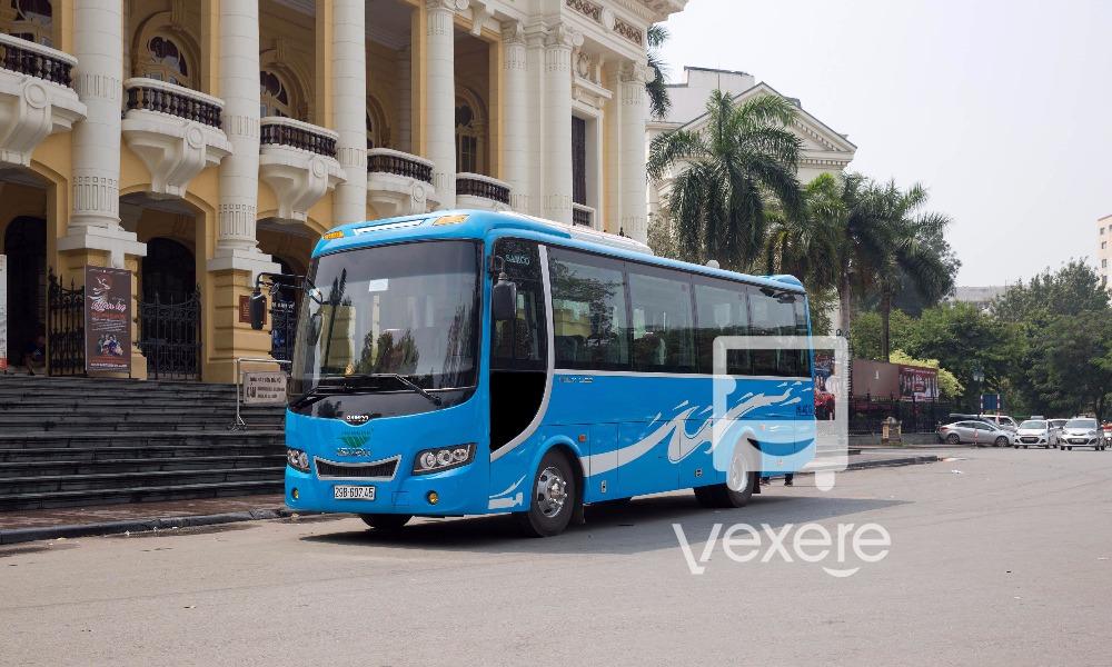 Xe Cát Bà Express từ Hà Nội đi Cát Bà