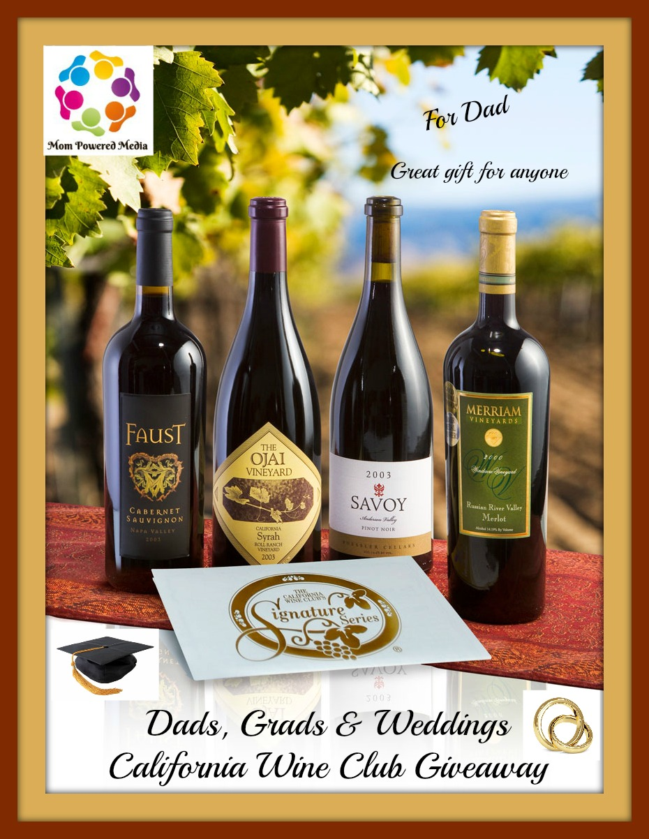 7 Kids And Us California Wine Club Giveaway 25 Prizes