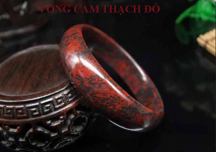 Vòng cẩm thạch đỏ