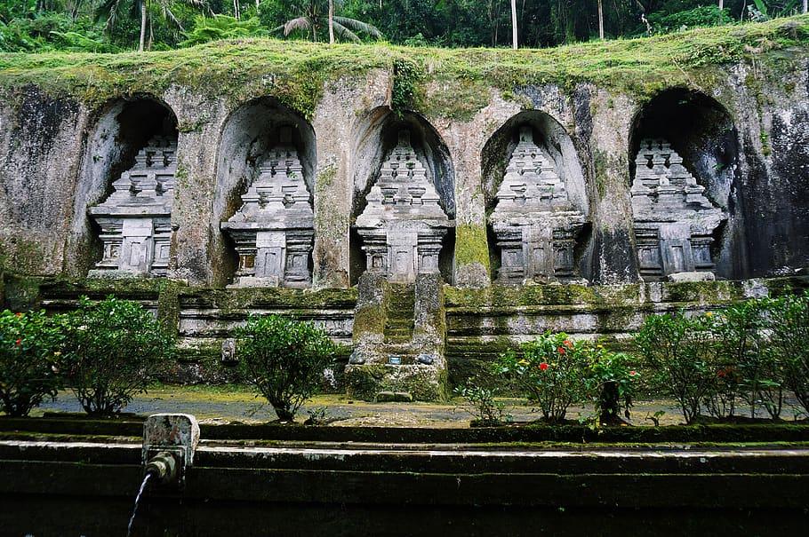 Sacred Shrines of the Warmadeva Dynasty inside Lura Gunung Kawi Temples in Ubud Bali