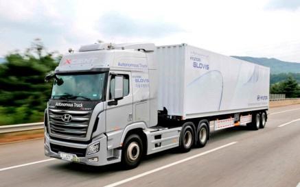 Un camión autónomo de Hyundai recorre 40 km en autopista sin ...