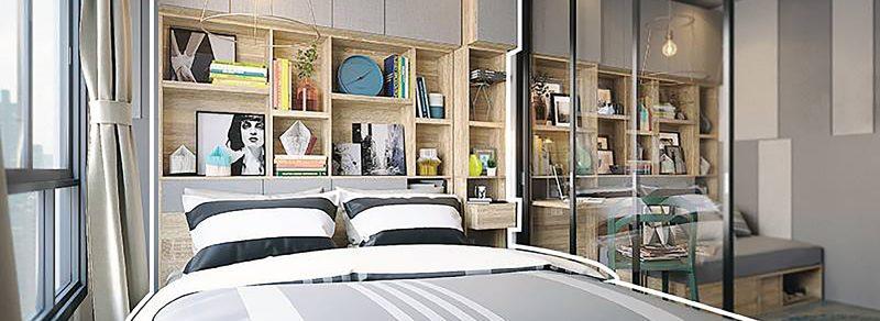 giường ngủ Sb