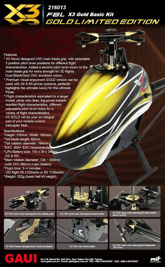 X3 Gold Basic Kit
