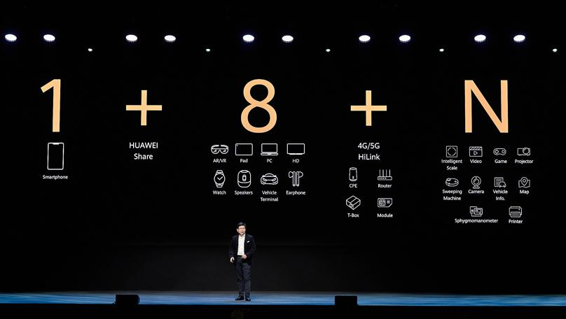 Huawei Announced New 5G Products and All-Scenario Seamless AI Life Strategy