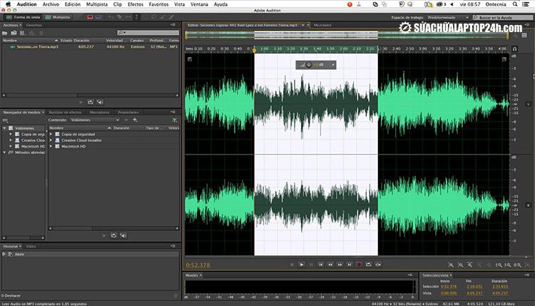 Phần mềm Adobe Audition