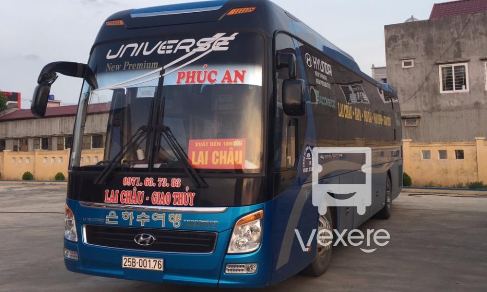 Xe Phúc An từ Hà Nội đi Lai Châu