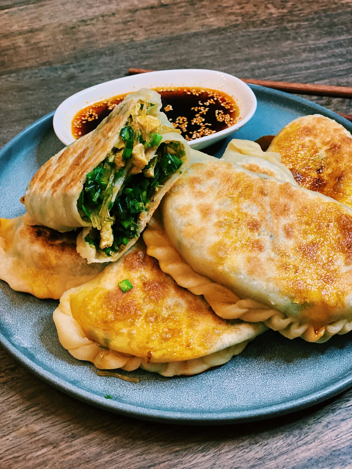 Chinese Chives Pockets
