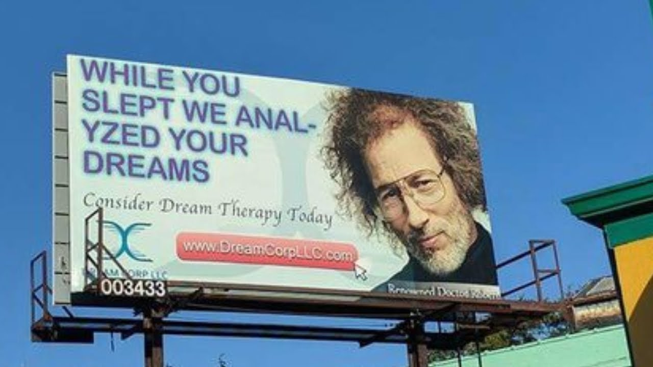 Ad fail billboard dream anal