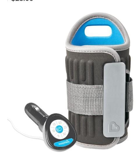 #3. Munchkin Travel Car Baby Bottle Warmer