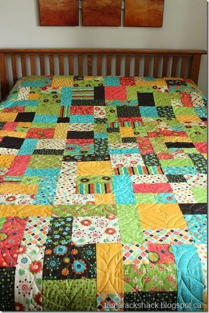 Modern Colors Yellow Brick Road Quilt