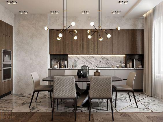 Mẫu thiết kế phòng bếp gây sốt năm 2019
