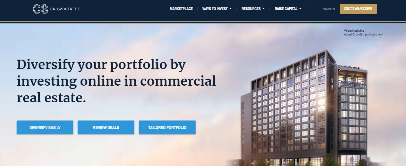 CrowdStreet - commercial real estate platform
