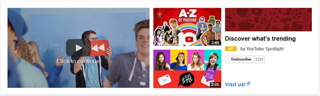 YouTube Universal Video Masthead