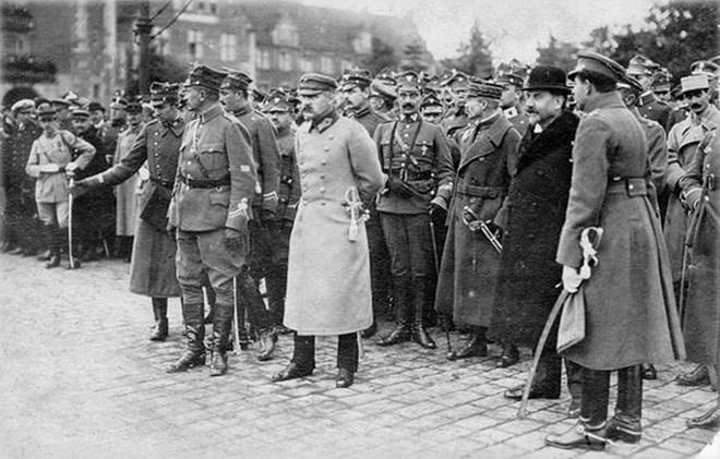 Юзеф Пілсудський в Познані, 27 жовтня 1919 р.