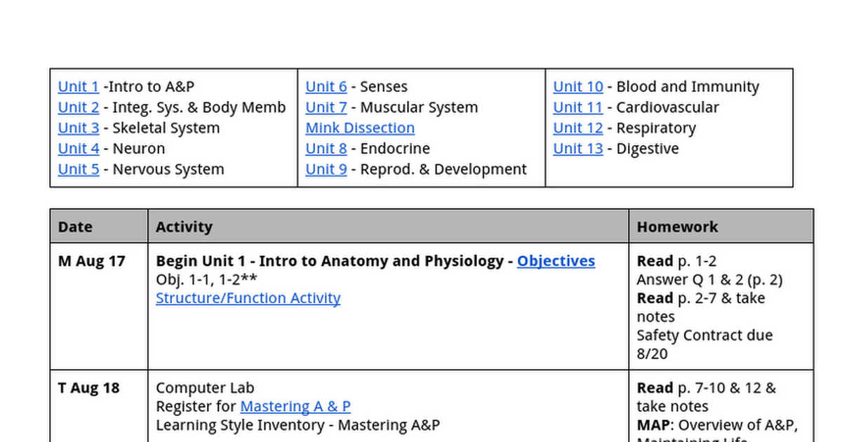 Anatomy and Physiology Calendar 15-16 - Google Docs