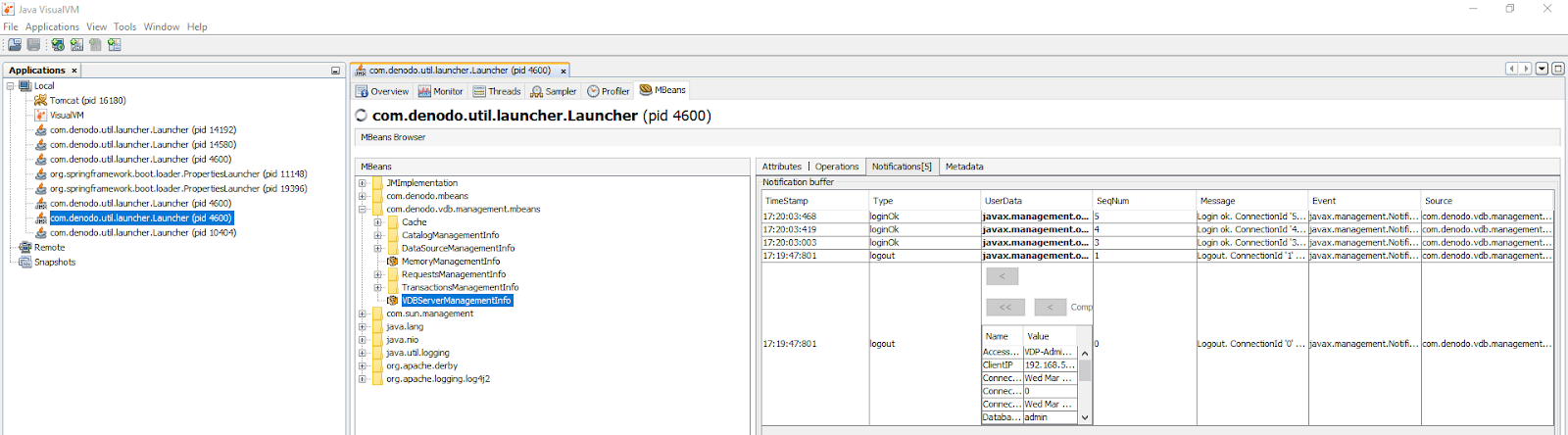 Auditing User Access in Virtual DataPort