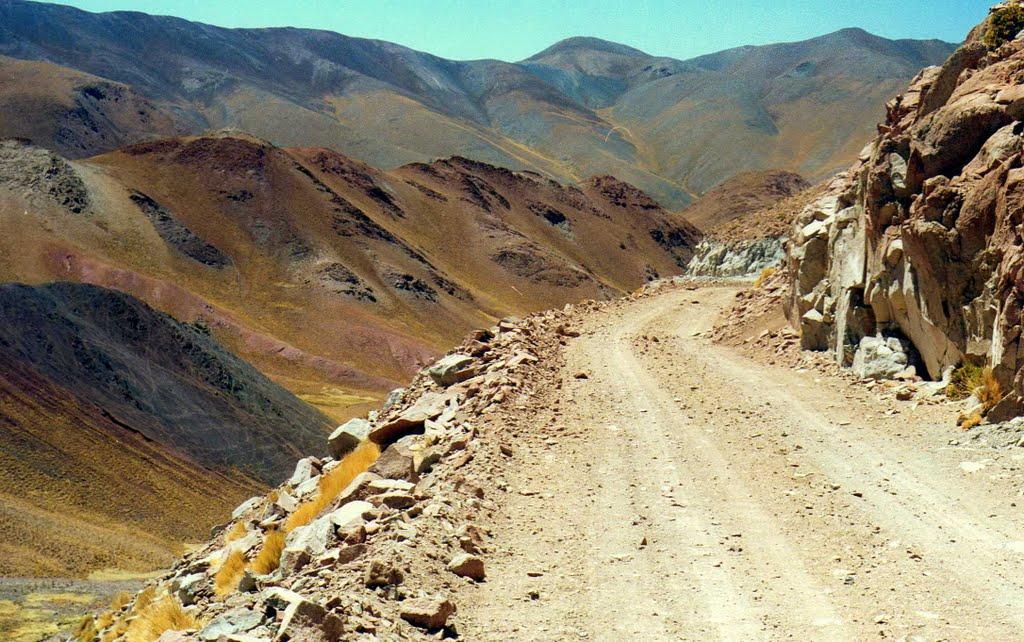 Der höchste Punkt der Route 40