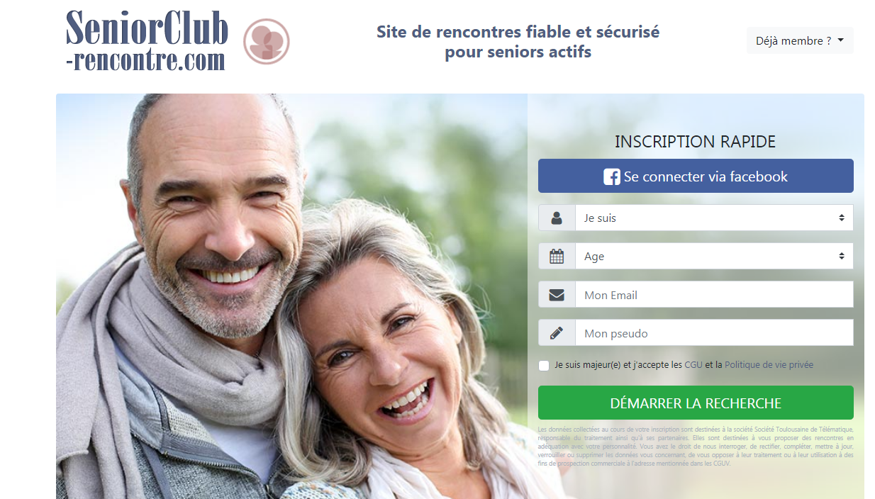 Créer un compte Senior Club Rencontre, comment ça marche ?