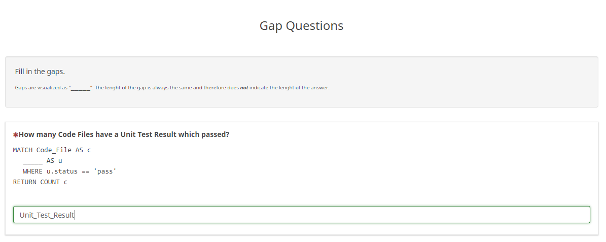 Evaluating programming language regarding usabiliy – survey with gap questions