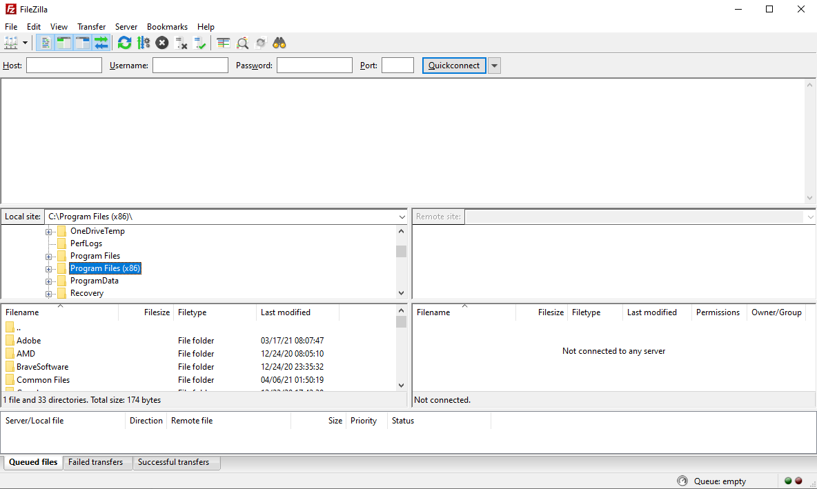 Cara menggunakan FTP FileZilla image 1