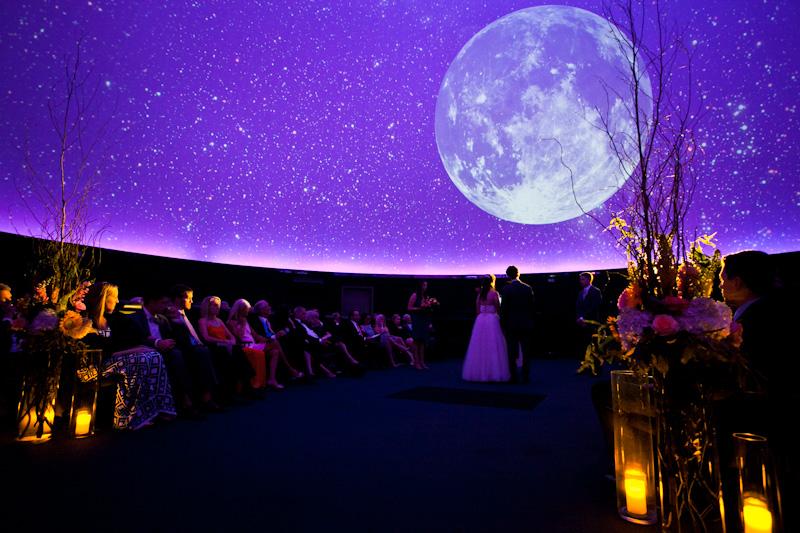 свадебный тренд иллюзии проекции