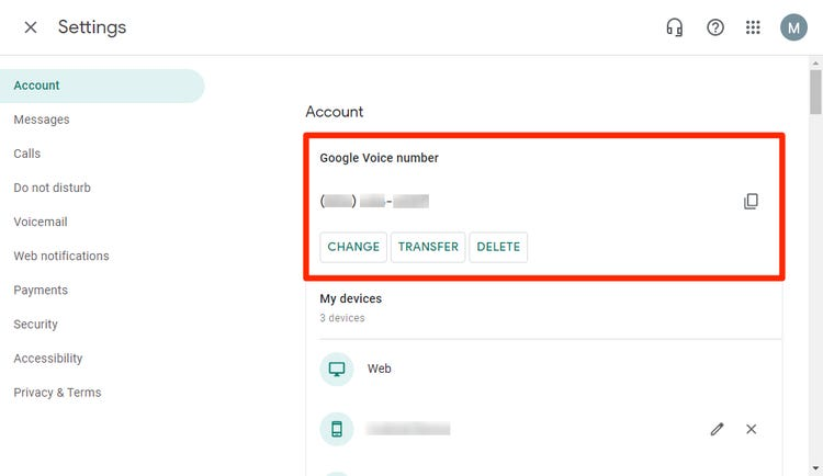 How to Find Your Google Voice Number on Desktop or Mobile