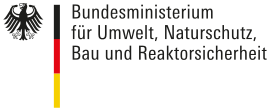 Bundesministerium für Umwelt, Naturschutz, Bau und Reaktorsicherheit Logo.svg