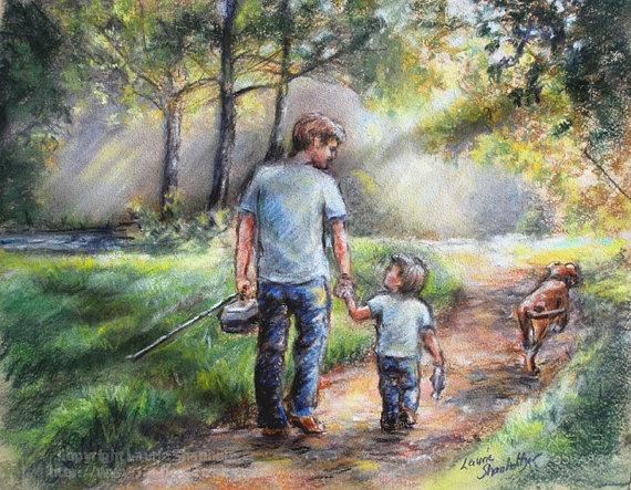 3ff6f398d7469d20e72897e970060750-father-and-son-pastel-paintings