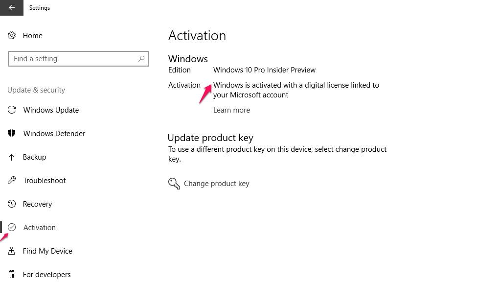 Kiếm tra windows bản quyền