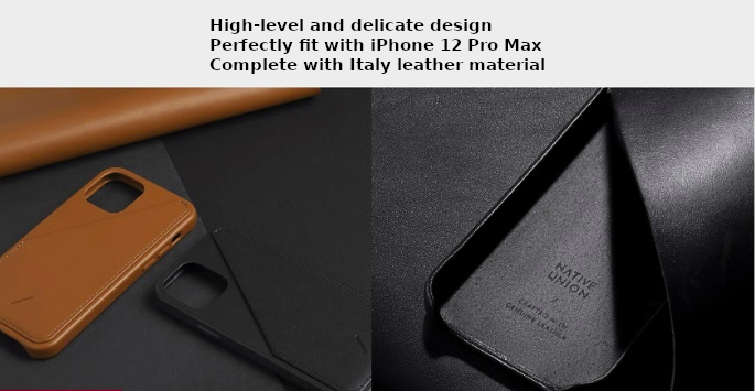 Best wallet case for iPhone 12 Pro Max 3